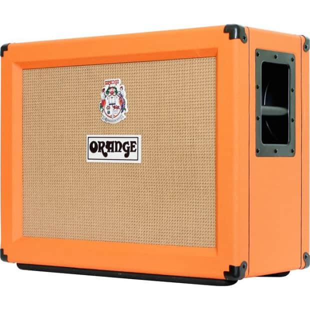 orange ppc212 ob 120w 2x12 guitar speaker cabinet reverb. Black Bedroom Furniture Sets. Home Design Ideas