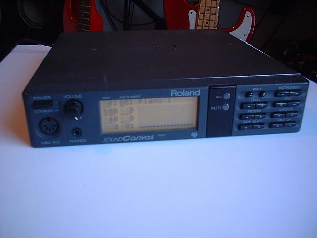 roland sc55 sound canvas midi module 1990 39 s reverb. Black Bedroom Furniture Sets. Home Design Ideas