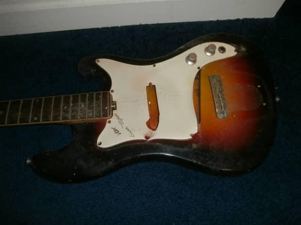 vintage 1960 39 s vox super meteor electric guitar project w reverb. Black Bedroom Furniture Sets. Home Design Ideas