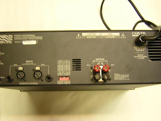 carver pxm900 power amp amplifier tour grade comp to. Black Bedroom Furniture Sets. Home Design Ideas