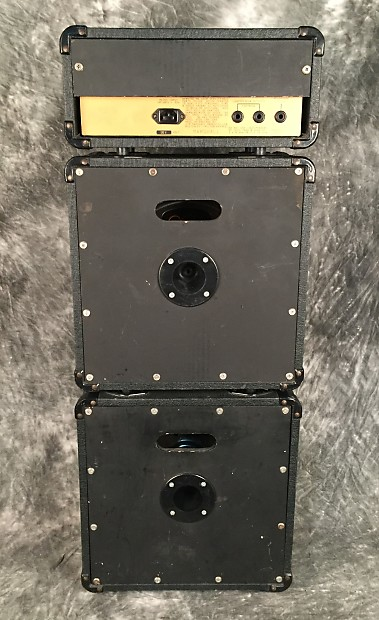 1987 Marshall Lead 12 Micro Stack Reverb