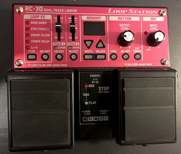 rc 30 dual track looper manual