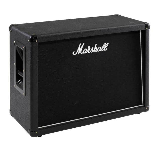 brand new marshall mx212 160w 2x12 guitar speaker cabinet 8 reverb. Black Bedroom Furniture Sets. Home Design Ideas
