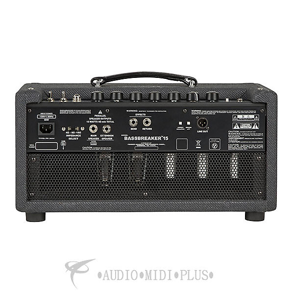fender bassbreaker 15 head 120 v guitar amplifier reverb. Black Bedroom Furniture Sets. Home Design Ideas