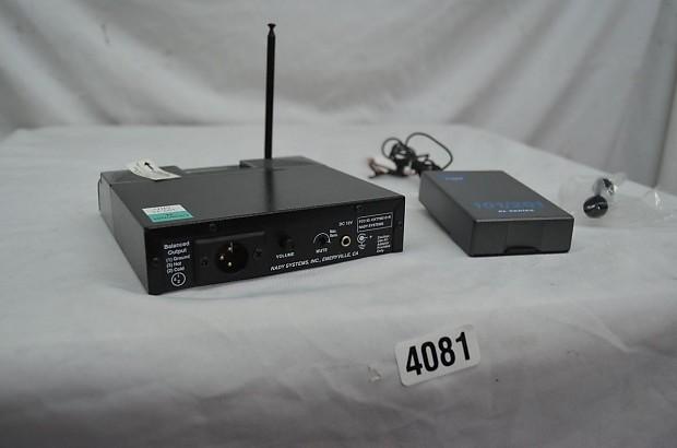 Nady 201 vhf Wireless Manual