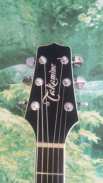 Takamine Ef341 Made In Japan Acoustic Electric Reverb