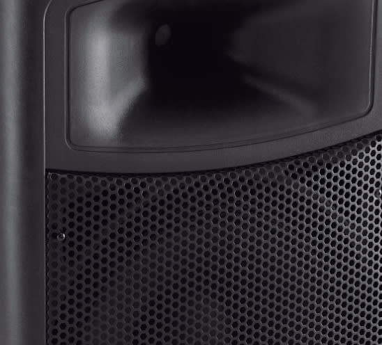 2 harbinger aps15 powered pa speakers reverb. Black Bedroom Furniture Sets. Home Design Ideas