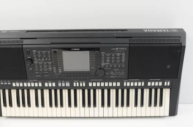 Yamaha psr s750 arranger workstation keyboard reverb for Yamaha psr s770 61 key arranger workstation