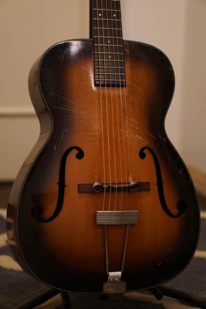 vintage 1936 martin r 18 pre war archtop guitar sunburst reverb. Black Bedroom Furniture Sets. Home Design Ideas