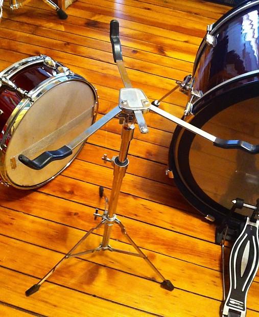 Sp Sound Percussion 4 Pc Drum Set Wine Red Metallic Wrap