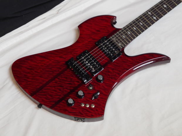 bc rich mockingbird stq hardtail electric guitar new trans red neck through reverb. Black Bedroom Furniture Sets. Home Design Ideas