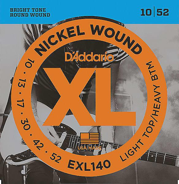 D Addario Exl140 Nickel Wound Electric Guitar Strings 10