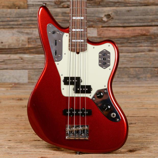 fender american standard jaguar bass 4 string mystic red 2014 s102 reverb. Black Bedroom Furniture Sets. Home Design Ideas