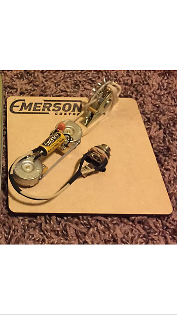 emerson wiring harness telecaster thin line way switch reverb emerson wiring harness telecaster thin line 4 way switch 2016