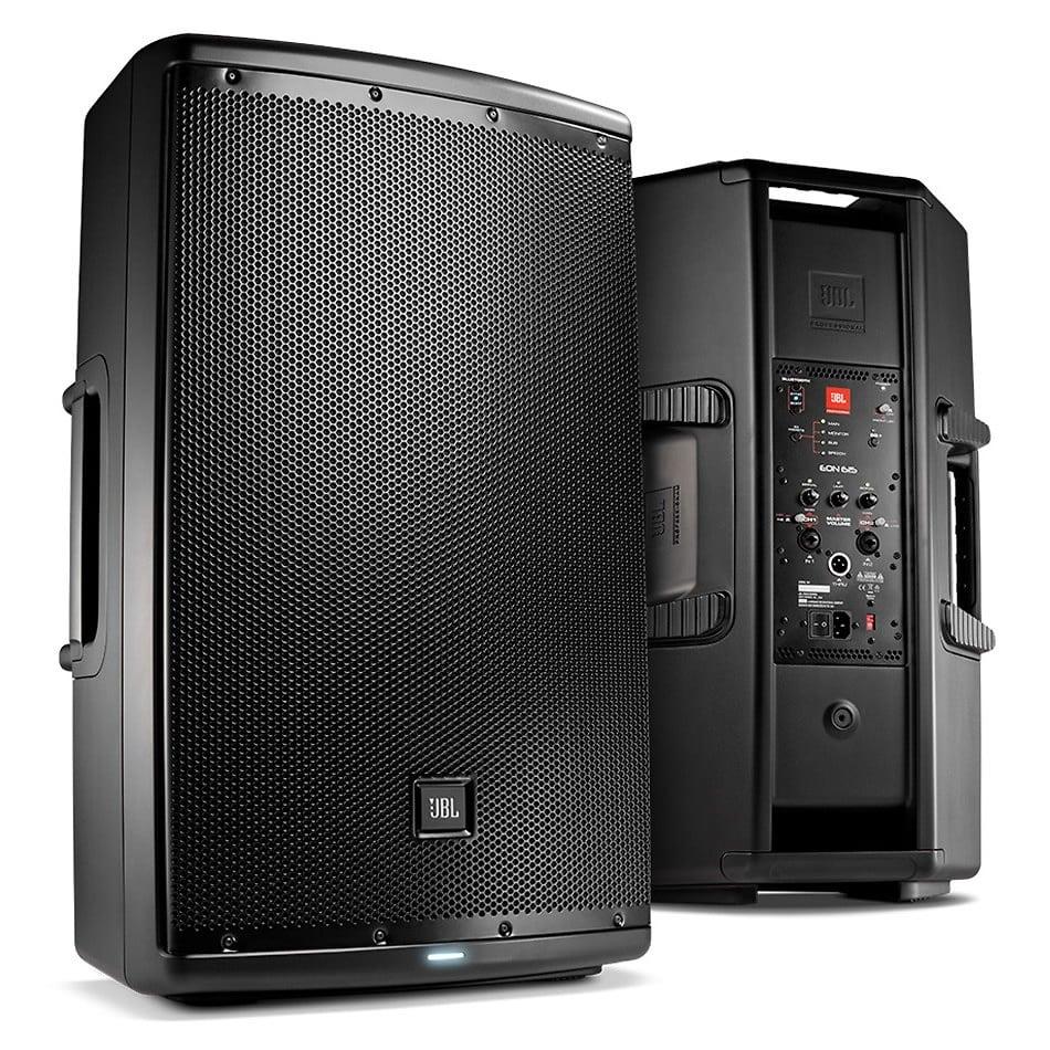 jbl eon615 15 two way 1000 watt active dj pa speaker reverb. Black Bedroom Furniture Sets. Home Design Ideas