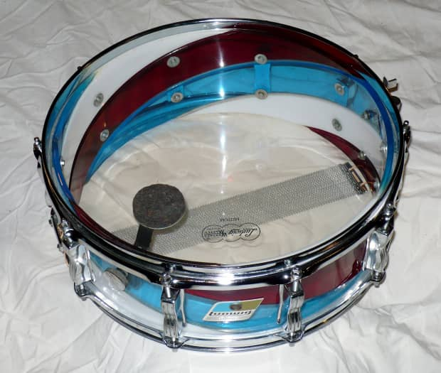 Petes Auto Sales >> Ludwig Vistalite Snare Drum Red/White/Blue Spiral | Reverb