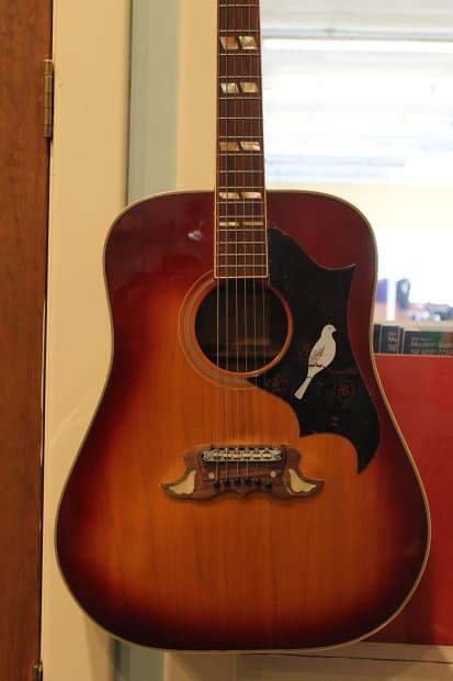Direct Auto Sales >> Lyle W415 DOVE Sunburst Acoustic Guitar | Reverb