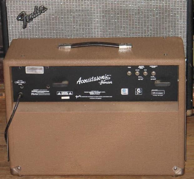fender usa acoustasonic junior amp rare early model very nice reverb. Black Bedroom Furniture Sets. Home Design Ideas