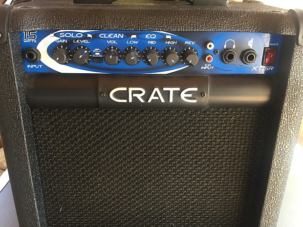 crate xt15r guitar amp reverb. Black Bedroom Furniture Sets. Home Design Ideas