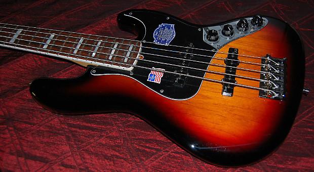 Fender Jazz Bass 5 String Controls : new fender american deluxe jazz bass 5 string 3 tone reverb ~ Russianpoet.info Haus und Dekorationen