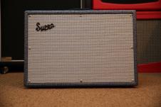 "Supro 1624T Dual-Tone - 24W 1x12"" Guitar Combo Amp image"