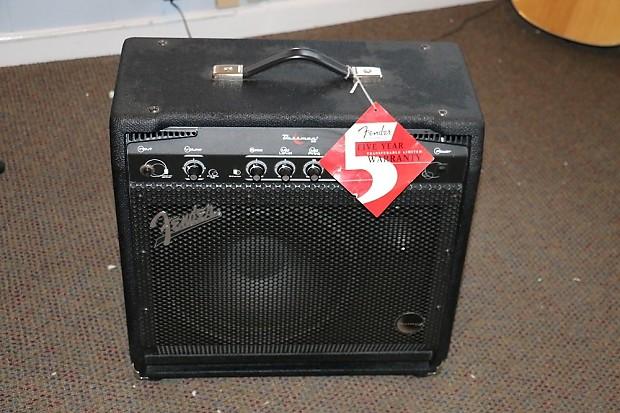 fender bassman 60 bass amp black reverb. Black Bedroom Furniture Sets. Home Design Ideas