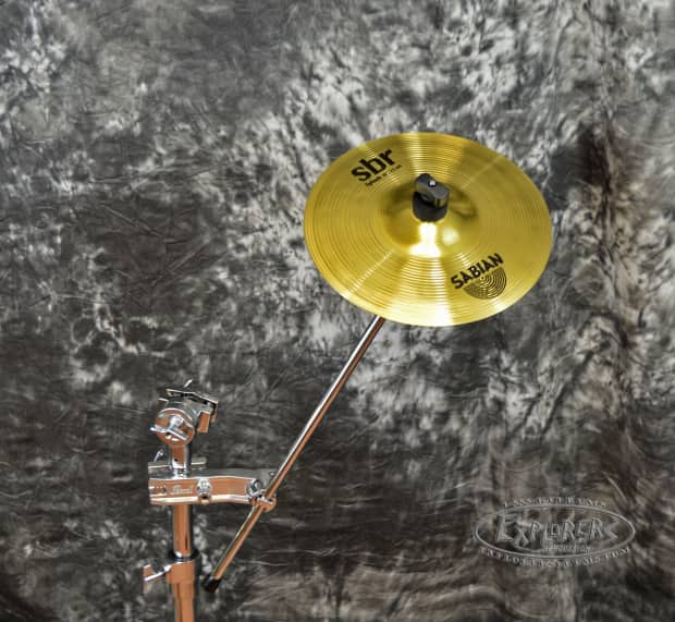 pearl ch70 cymbal clamp with sabian sbr 10 splash cymbal reverb. Black Bedroom Furniture Sets. Home Design Ideas