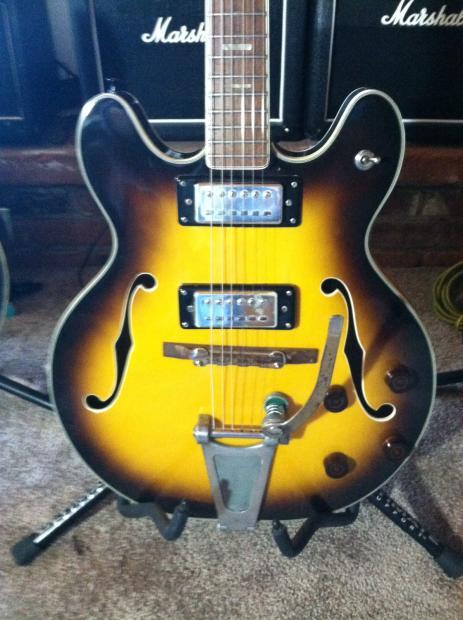 Ventura 1969 70 Model V 1001 Lawsuit Era Gibson Es Copy