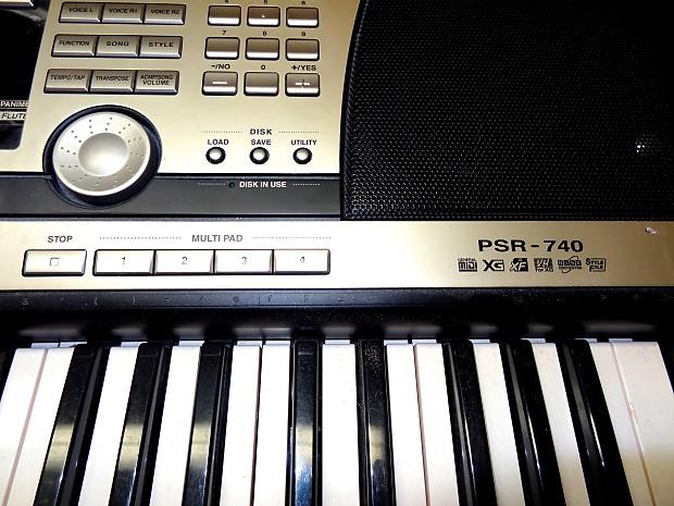 Yamaha psr-740 manual