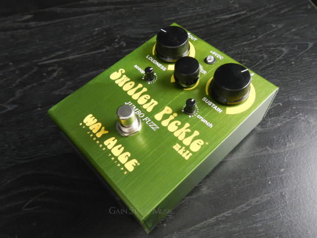 way huge swollen pickle mkii whe401 jumbo fuzz distortion guitar pedal nos reverb. Black Bedroom Furniture Sets. Home Design Ideas