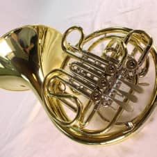 Holton Model H-378 Yellow Brass Double French Horn MINT image
