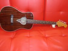 Fender  Malibu Alkaline Trio Mahoganey Acoustic Guitar image