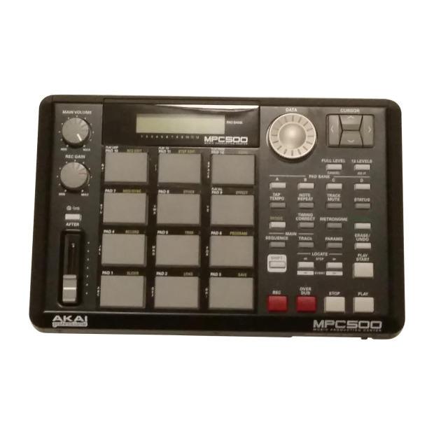 akai professional mpc500 128mb memory mint portable music production center drum machine mpc 500. Black Bedroom Furniture Sets. Home Design Ideas