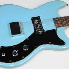 Vintage 1964 Guild S-50 Jet Star Electric Guitar, Robin's Egg Blue, S50 #34603 image