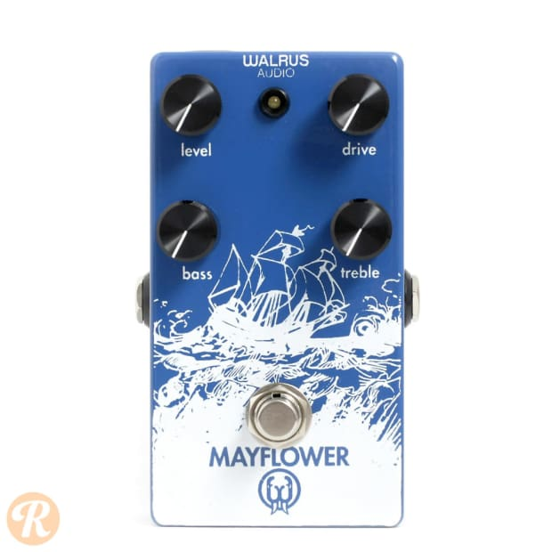 walrus audio mayflower overdrive pedal reverb