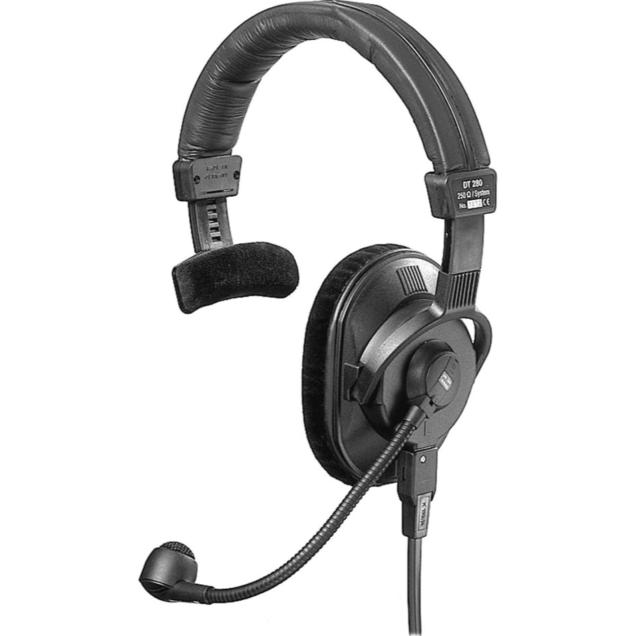 beyerdynamic dt280 mkii single ear headset with mic reverb. Black Bedroom Furniture Sets. Home Design Ideas