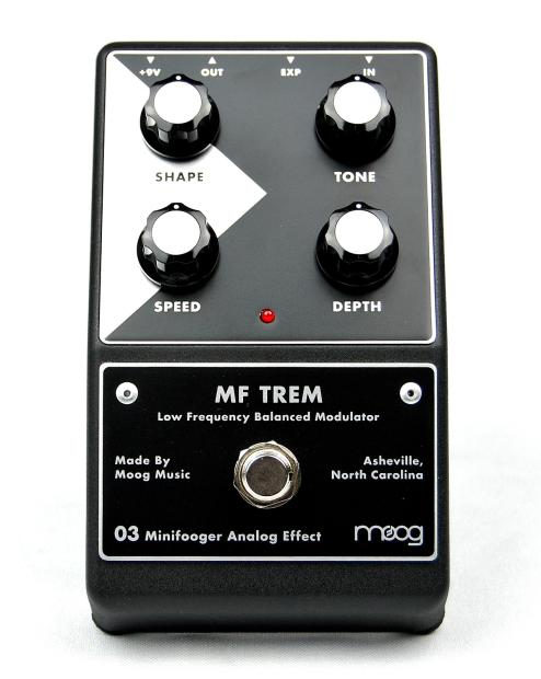 new moog minifooger 03 mf trem tremolo modulator analog reverb. Black Bedroom Furniture Sets. Home Design Ideas