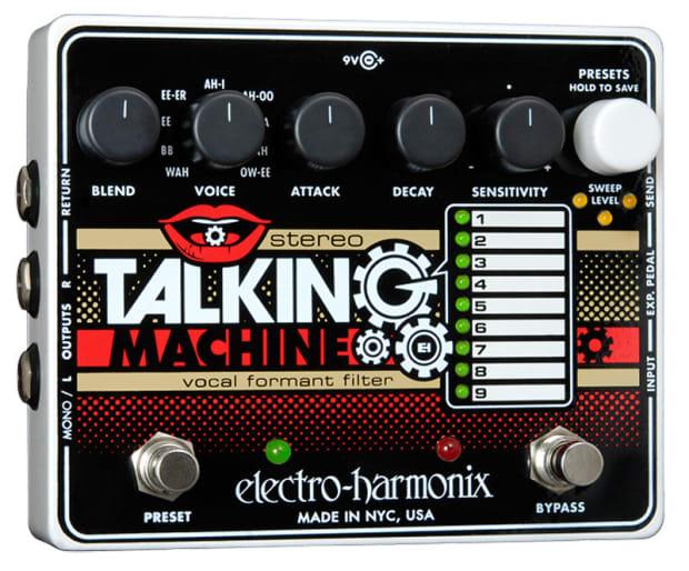 electro harmonix talking machine
