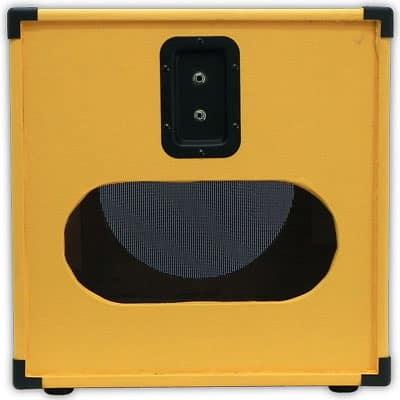 1x12 guitar speaker cab empty cube cabinet orange tolex reverb. Black Bedroom Furniture Sets. Home Design Ideas