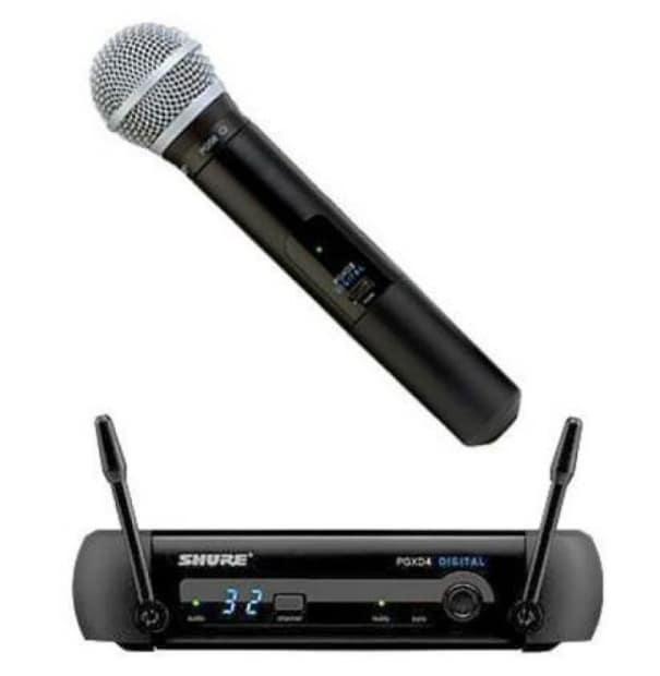 shure pgxd24 sm58 pgx digital handheld wireless microphone reverb. Black Bedroom Furniture Sets. Home Design Ideas