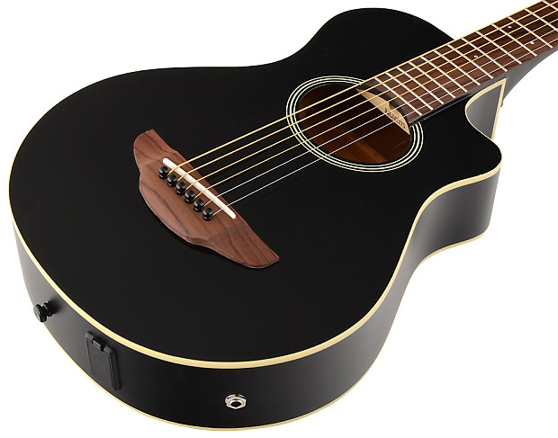 Yamaha apxt2 3 4 size thinline acoustic electric cutaway for 3 4 yamaha acoustic guitar