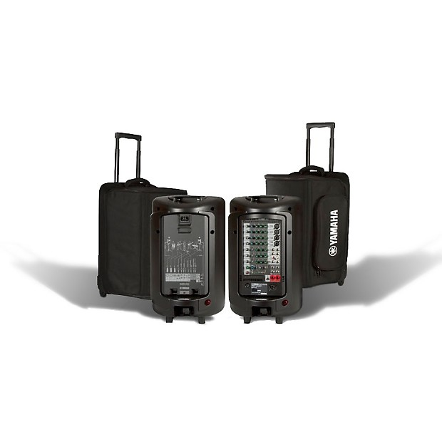 Yamaha ybsp600i soft rolling carry case for stagepas 600i for Yamaha dealer in pa