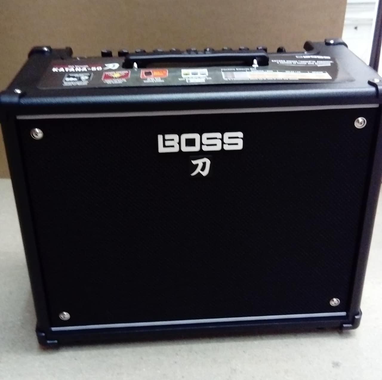 boss ktn 50 katana 50w 1x12 guitar combo amp b stock reverb. Black Bedroom Furniture Sets. Home Design Ideas