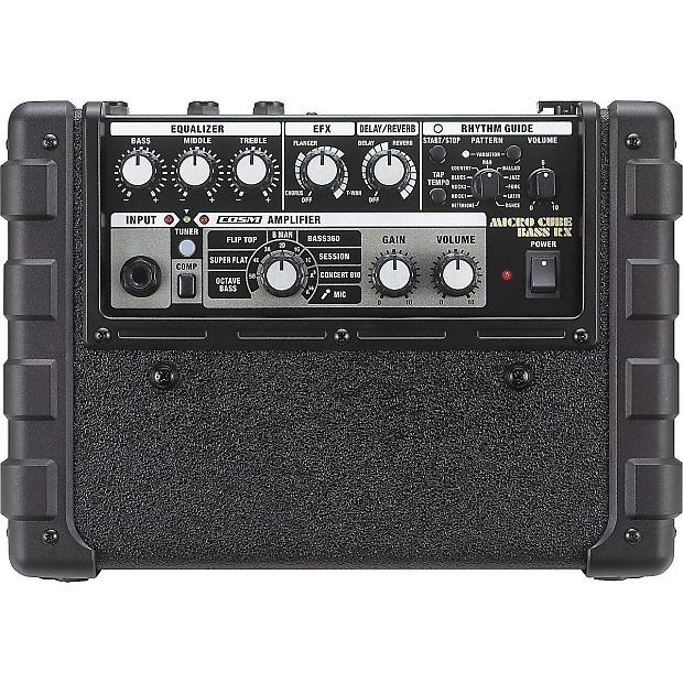 Battery Powered Bass Amp : roland micro cube bass rx battery powered bass combo amp reverb ~ Vivirlamusica.com Haus und Dekorationen