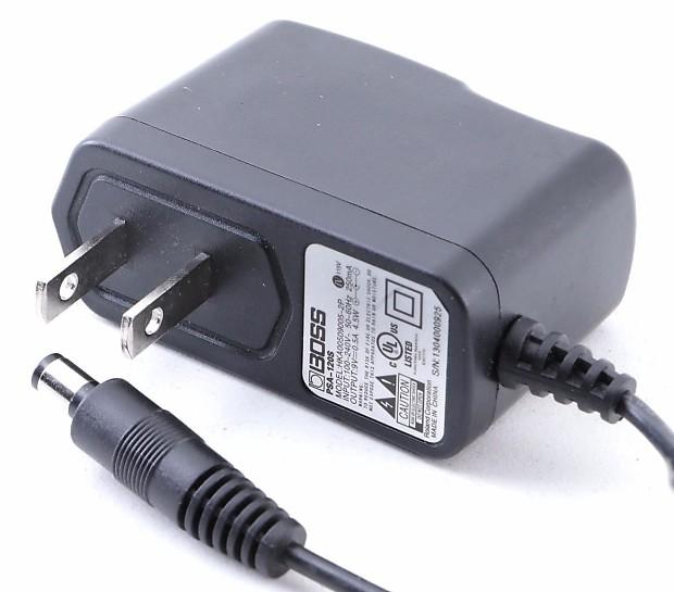 boss psa 120s power supply 9v dc 500 ma os 5817 reverb. Black Bedroom Furniture Sets. Home Design Ideas