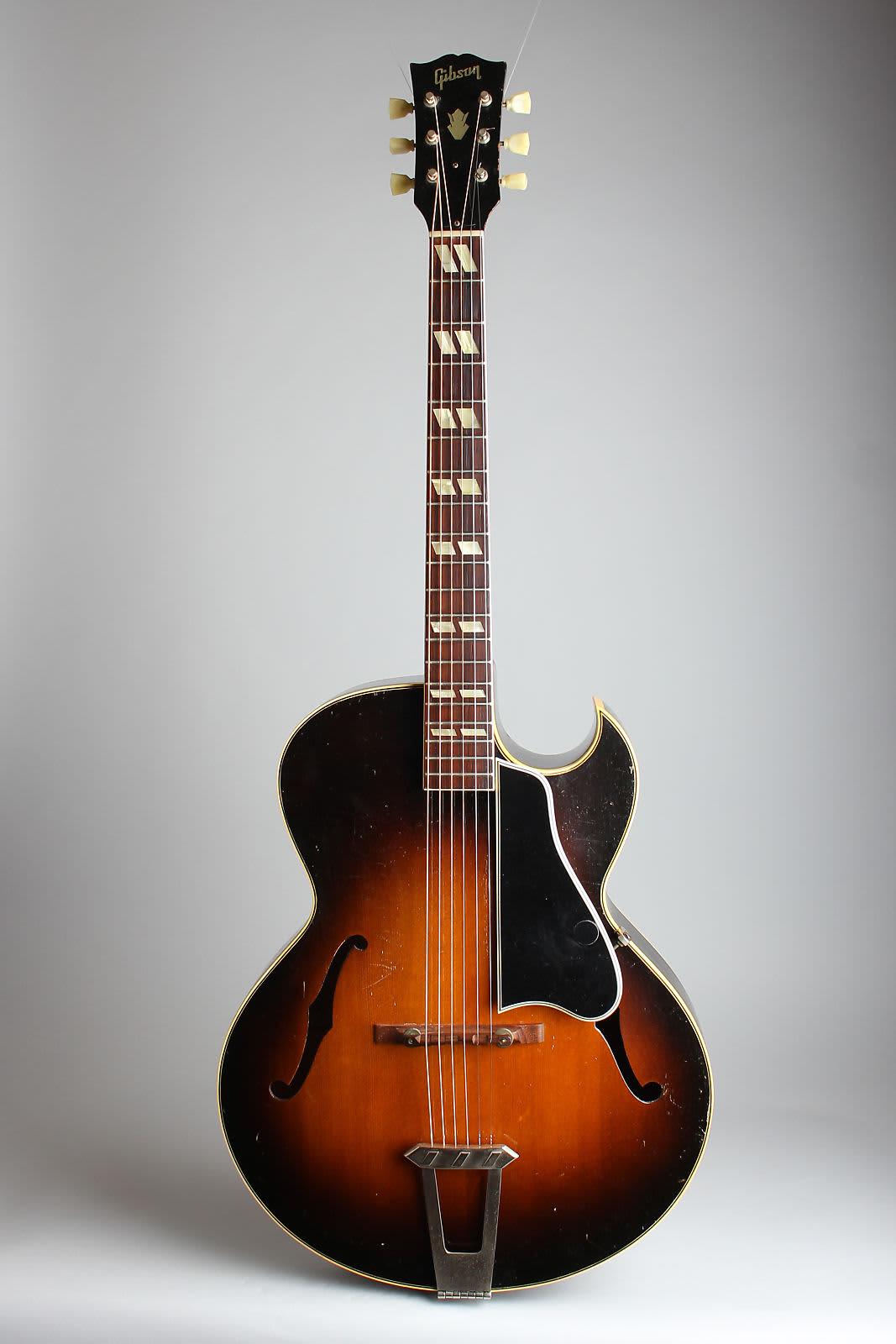 gibson l 4c arch top acoustic guitar 1950 ser a 5142 reverb. Black Bedroom Furniture Sets. Home Design Ideas