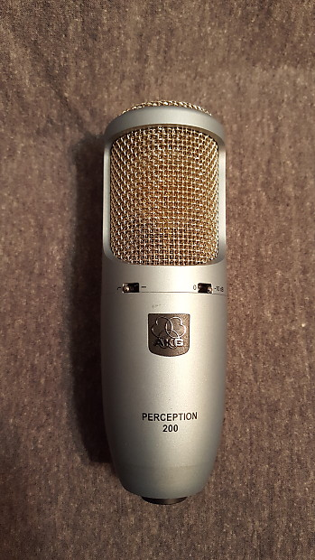 akg perception 200 studio condenser microphone reverb. Black Bedroom Furniture Sets. Home Design Ideas