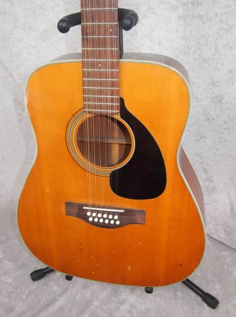 1975 Yamaha 12 Twelve String Acoustic Guitar Mij Made In