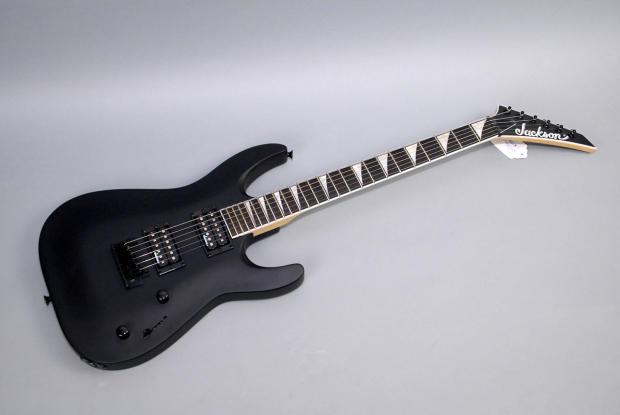 jackson js22 dinky dka electric guitar satin black new reverb. Black Bedroom Furniture Sets. Home Design Ideas