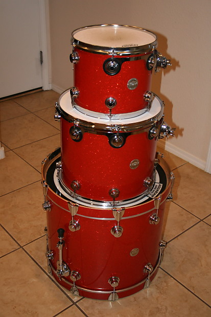 Dw Collector S Series Bass Drum Floor Tom Rack Tom Reverb